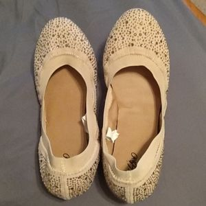 Mossimo sparkly flats